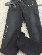 Rock & Republic Skinny Berlin Woman Jeans Size 6 Medium  Black Wash, Low Rise