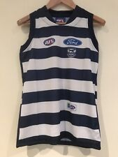 AFL Geelong Training Singlet Size 10 Chest 42 Cms