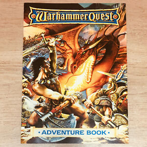 Classic Warhammer Quest Adventure Book Games Workshop 1995