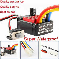 Hobbywing QuicRun 1060 60A Brushed ESC Electronic Speed Controller For RC Car #2
