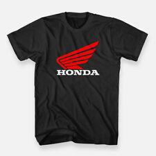 The Motorcycle Bikes Powersports Honda Men's T-shirt Color Black