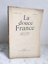 La douce France Revue d'art Emmanuel Thubert n°54 Paris 1923-24