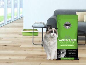 World's Best Cat Litter Clumping Litter Formula 28Pounds 99% Dust Free Flushable