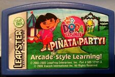 Leap Frog Leapster ~ Dora the Explorer Pinata Party ~ Learning Game Cartridge