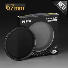 Nisi nd2 nd400 Filtre Mince Graufilter nd2-400 pour tous les objective Ø 67 mm s'adapte