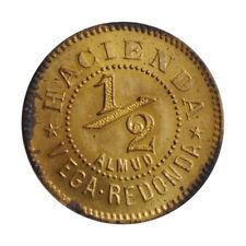 """Puerto Rico 1/2 almud ND-1890, UNC, """"Puerto Rico - Plantation Tokens"""""""