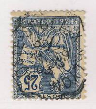 """FRANCE - 1903 CAD CONVOYEUR-LIGNE T2 """" AOSTE SAINT-GENIX À LYON """" sur N°127 (a)"""