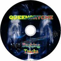 QUEENSRYCHE GUITAR BACKING TRACKS CD BEST OF GREATEST HITS MUSIC PLAY ALONG MP3