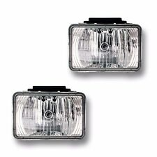 Fits 04-12 Colorado GMC Canyon Driver Passenger Fog Light Lamp Assembly 1 Pair