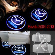 2X HD Logo Car Door Ghost Shadow Welcome Projector Light For Mazda 6 2004-2013