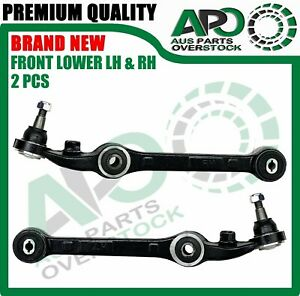 2PCS Front Lower Left & Right Control Arms For Holden Commodore VT S2 VU VY VZ