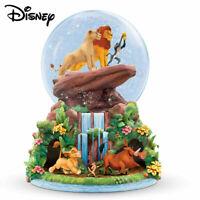 Bradford Exchange Disney 'The Lion King' Rotating Musical Glitter Globe