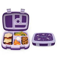 Bentgo Kids Prints Unicorn - Leak-Proof, 5-Compartment Bento-Style Kids Lunch -