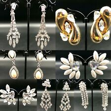 Vintage earrings - clip-on - various dates - choose yours from menu