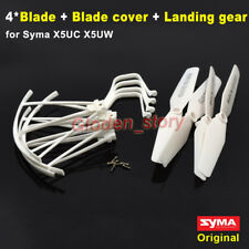 Syma X5UC X5UW Spare Parts Landing Skit Gear+Blade Propeller Set+Protector Guard