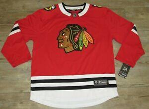 Fanatics Chicago Blackhawks Breakaway Home Hockey $130 Jersey size Men's XL