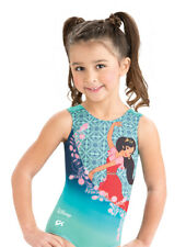Nwt Gk Elite Disney Elena of Avalor Gymnastics Leotard Child Sizes