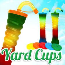 Yard Cups Slush Slushy MIX Colours 500 ml , 17,6oz. [1 Box - 155 pcs ]