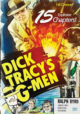 Dick Tracy's G-Men - Classic Movie Cliffhanger Serial Dvd Ralph Byrd