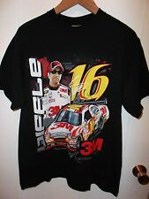 NASCAR Greg Biffle #16 Ford Fusion Race Car Driver Chase Racing Black T Shirt Lg