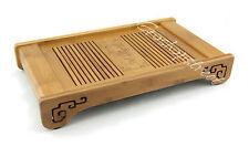 Tasteful Elegant Bamboo Chinese Gongfu Tea Table Serving tray 39.5*22.7cm L05