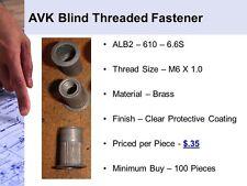 AVK Blind Threaded Fastener (ALB2610)