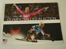 "US Olympic ""Values in Action"" Team USA 2013-2014 Calendar"