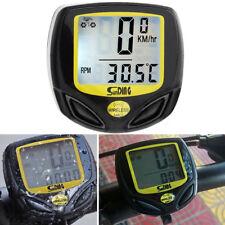 Waterproof Bicycle Speedometer Wireless Bike Meter Computer Odometer LCD Display