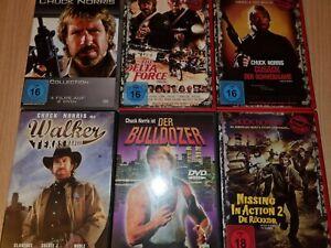 Chuck Norris DVD Sammlung 6 DVD mit 9 Filmen Missing in Action 2, Cusack, Walker