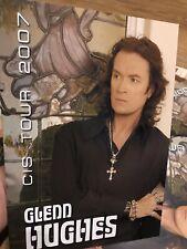 GLENN HUGHES CIS TOUR BOOK 2007 RUSSIAN EDITION DEEP PURPLE CALIFORNIA BREED