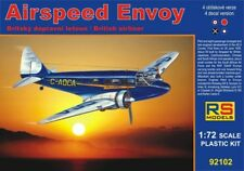 RS Model 1/72 Airspeed Envoy British Lynx Twin Engine Airliner Model Kit 92102