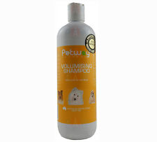 Petway Volumising Shampoo 500ml Dog Cat Puppies Kittens Gentle Wash Concentrate