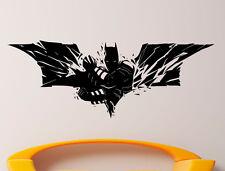 Batman Logo Wall Vinyl Decal Comics Superhero Sticker Removable Decor  (3jbat)