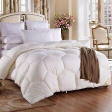 Goose Down Alternative Beige Winter 3000g Comforter Duvet Quilt Blanket-4 Sizes