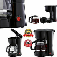 Mainstays 5 Cup Black Coffee Maker With Removable Filter Basket Easy to Operate