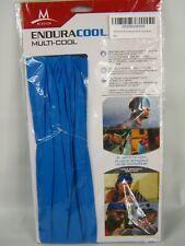 Mission EnduraCool Multi Cool Cooling Neck Gaiter Headband Wrap Bandana Blue