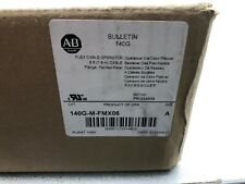 NEW IN BOX ALLEN BRADLEY 6 FT FLEX CABLE OPERATOR HANDLE 140G-M-FMX06