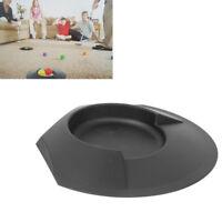 6x Black Plastic Golf Putting Cup Putt Practice Home Backyard Training Aids