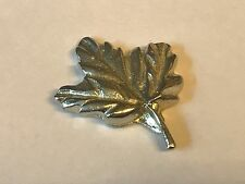 Big Maple Leaf TG237 Pewter Fridge / office desk  Magnet memo magnet fancy