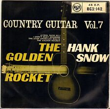 "HANK SNOW ""COUNTRY GUITAR VOL. 7"" COUNTRY ROCK EP 1959 RCA 142"