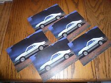 1980 Ford Mustangs - (5) Package Lot of Cards