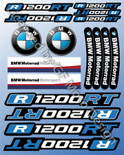 R1200RT Motorrad Aufkleber Laminiert Decal Sticker BMW R1200 RT Blau