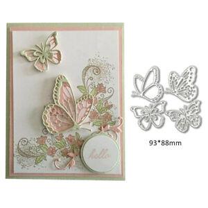 Schmetterling Stanzschablone Cutting Dies Schablonen Scrapbooking Prägen DE