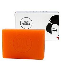 Original Kojie San Skin Lightening Kojic Acid Soap for Unisex 135gm Free Ship