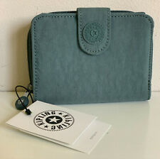 NEW! KIPLING NEW MONEY LIGHT ALOE GREEN WALLET PURSE SALE