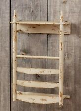 Primitive new Chair Back wood Wall Shelf