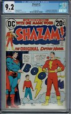 CGC 9.2 SHAZAM #1 WHITE PAGES 1ST APPEARANCE SHAZAM CAPTAIN MARVEL MODERN AGE