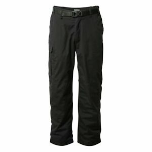 Craghoppers Men's Kiwi Winter Lined Trousers Navy and Black RRP £70