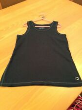 girls clothes 12-13 years Gap Navy Stretch Cotton Vest Top