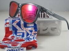 Oakley FROGSKINS Limited Edition Crystal Black w/Ruby Iridium 24-244